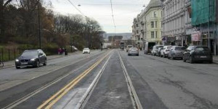 Henrik Ibsens gate. Foto: Bymiljøetaten