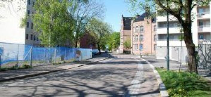 St. Halvards gate. Illustrasjon: Bymiljøetaten