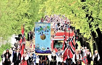Man tøyser ikke med 17. mai-tradisjonene på Bygdøy