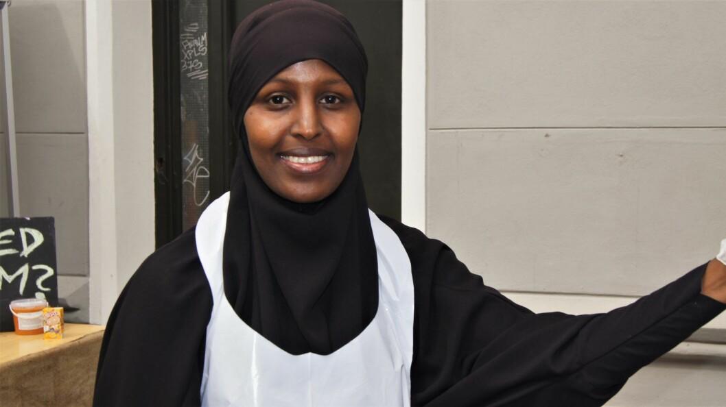 Faisa Warsame på Tøyenfest. Arkivfoto: Suzann Boutera Gaber