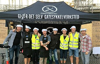 Få gratis opplæring i vedlikehold av sykkelen din av sykkelkokkene i Sykkelkjøkkenet Oslo