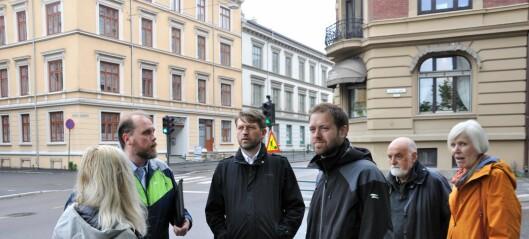 Venstre vil ha tidsfrist for en trafikkløsning i Løkkeveien
