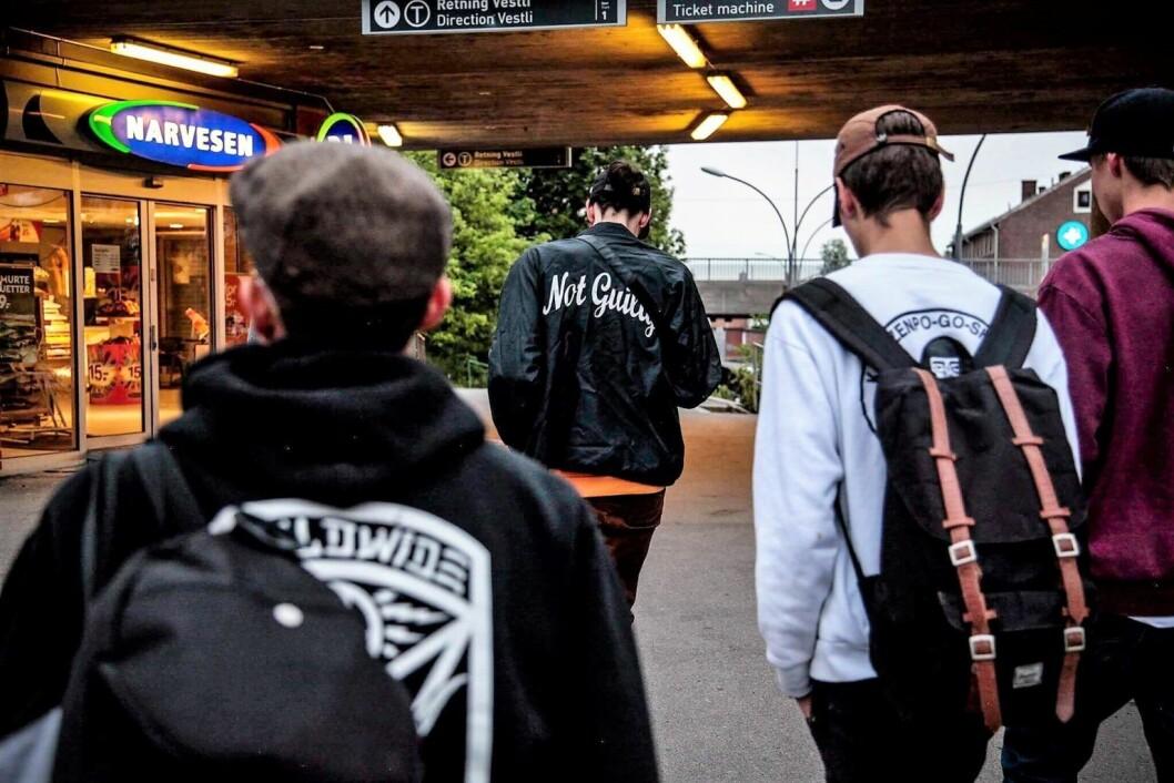 Gutter fra Grünerløkka. Personene på bildet er ikke tilknyttet denne saken. Foto: Robin Sandvid