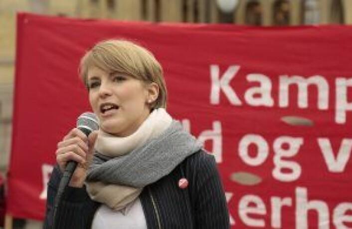 SVs Kari Elisabeth Kaski. Foto: Ka Man Mak
