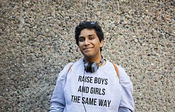 Rahman Akhtar Chaudhry kjemper for en skole der vi samler alle forskjellene våre i ett klasserom. Han er elevorganisasjonens nye leder