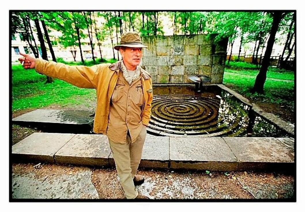 Sommeren 2019 kan Klosterenga skulpturpark åpne. Ildsjelen bak parken, Bård Breivik, får ikke oppleve åpningen. Han døde i 2016. Foto: Tom Martinesn / Dagbladet