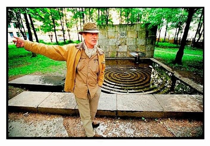 Sommeren 2019 kan Klosterenga skulpturpark endelig stå helt ferdig. Ildsjelen bak parken, Bård Breivik, får ikke oppleve åpningen. Han døde i 2016. Foto: Tom Martinesn / Dagbladet