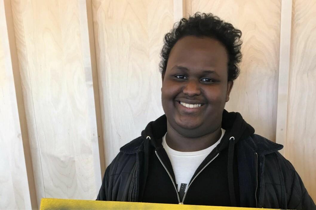 Abdullahi Bashir (19), er ny leder for Tøyenrådet.