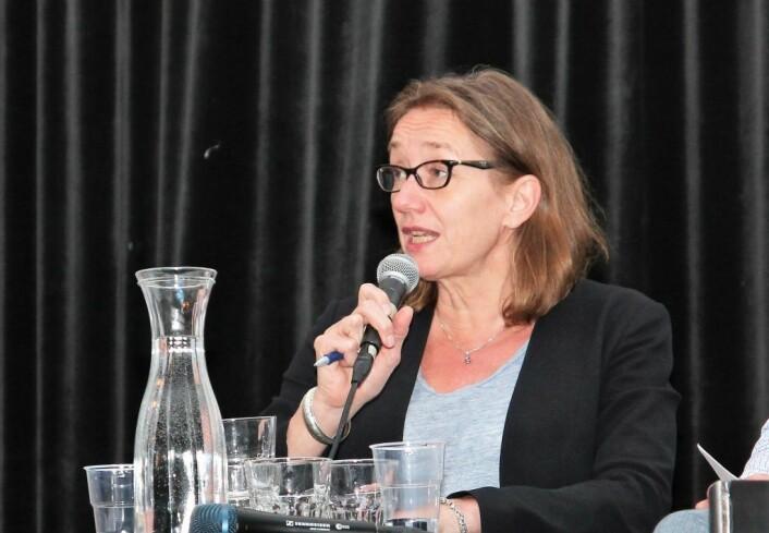 Forskningsjef Anne Britt Djuve, ved forskningsstiftelsen FAFO mener vi må ta til motmæle mot behandlingen av romfolk. Foto: Nesteren Hasani