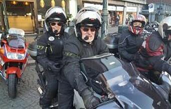 MC-folket får bli i sentrum. – Skammelig å jage sykler med motor