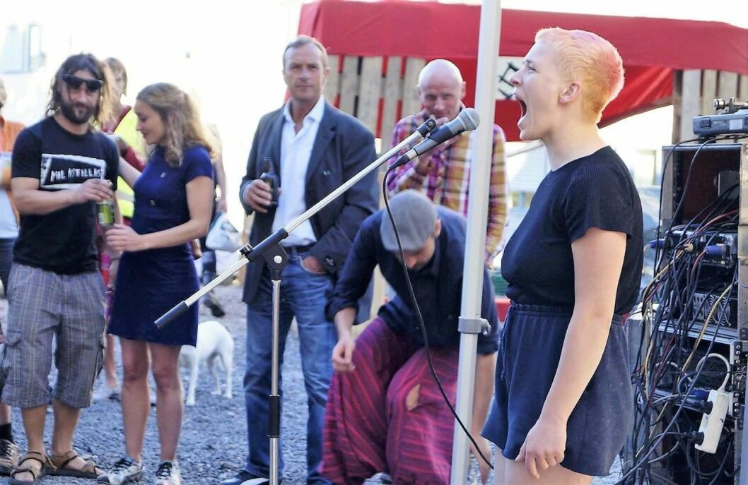 Fra fjorårets Hausmaniafestivalen. Foto: Åse Karlsen