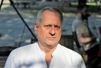 Bydelspolitikere for Rødt, Ragnar Leine, var eneste person som stemte mot skjenkebevilling for Prindsen Hage. Foto: Yasmin Sfrintzeris
