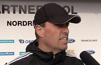 Tom Nordlie: — Nå skal vi spille mot et lag som vil spille fotball, ikke bare sparke ballen høyt og langt
