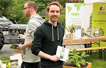 Miljøfestival i Oslos nyeste park: –— Jeg anbefaler alle å plante egne grønnsaker og urter hjemme
