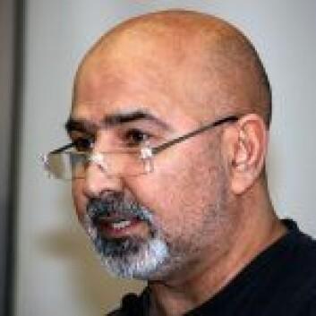 Reza Rezaee sitter i bydelsutvalget i bydel Sagene for Rødt. Foto: Wikipedia