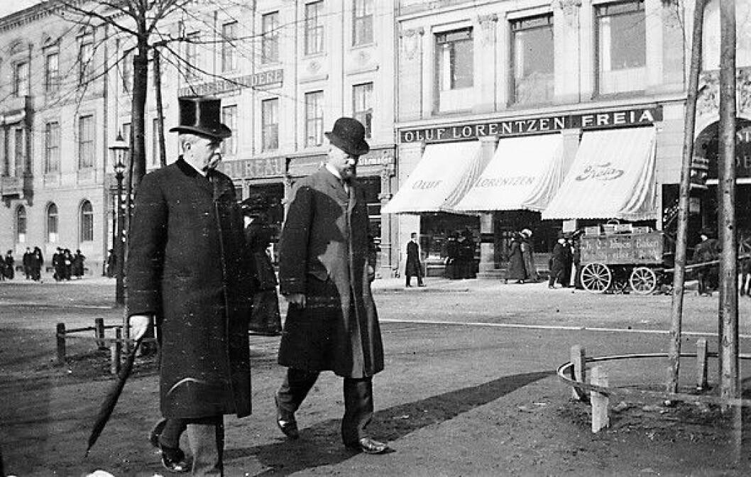 Karl Johan i 1904. Foto: Anders Beer Wilse / Oslo Museum