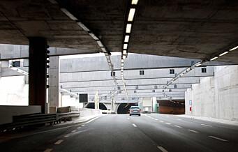 Ekeberg- og Svartdalstunnelen nattestenges fra 12. juni og to år fremover