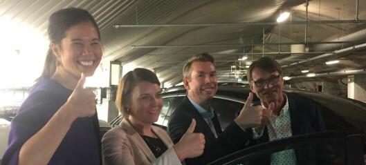 Verdens første rene ladegarasje åpnet i går – i Oslo