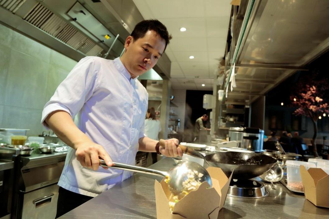 Hung Duong lager mat. Foto: Ka Man Mak