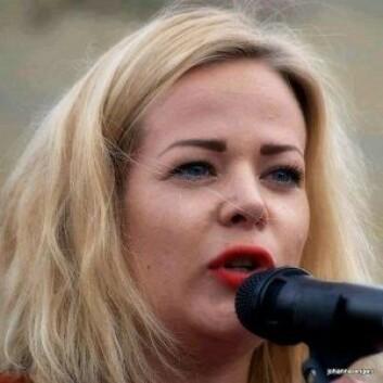 Tina Skotnes, fra Kvinnefronten. Foto: Privat