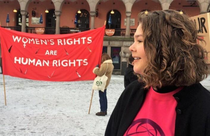 Oline Margrethe Rustad, fra Jentefronten. Foto. Privat