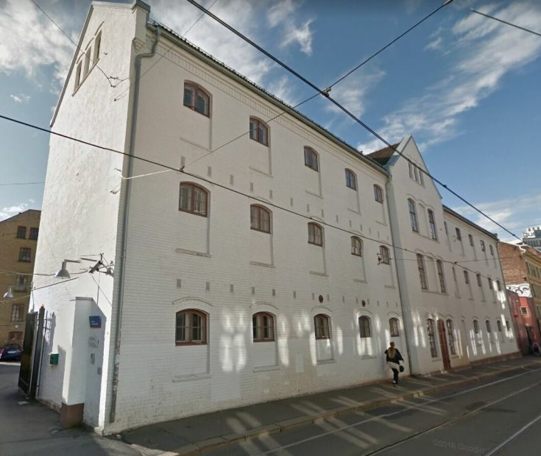Krf frykter hjelpetiltakene for rusmisbrukere og andre jages bort fra Storgata 36 Foto: Google Maps