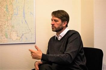 Lederen for miljø- og samferdselskomiteen, Eirik Lae Solberg (H), er svært fornøyd med at man har kommet til enighet om Oslopakke 3. Foto: Vegard Velle