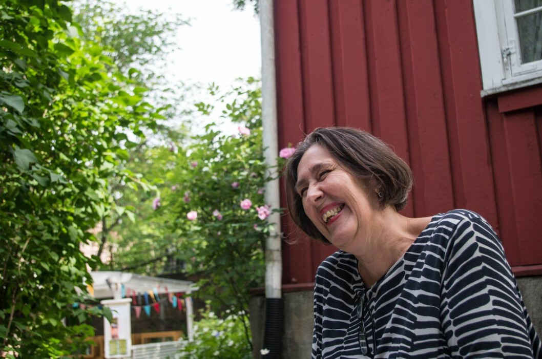 Etter ti år på Hønse-Lovisas hus reiser Anne Mette Hegdahl hjem til Steinkjer. Foto: Kyrre Songstad Seim