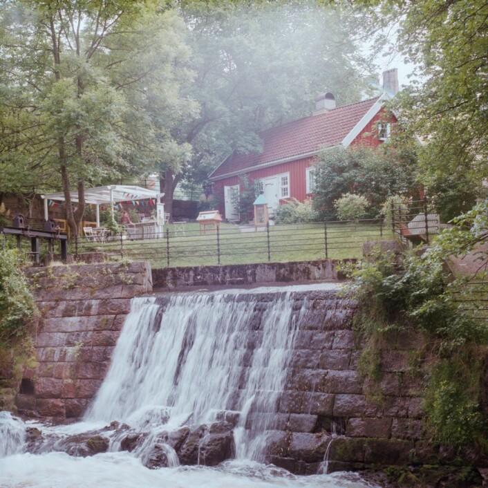 Hønse-Lovisa hus ligger tett ved Akerselva på Sagene. I dag er det nesten absurd at dette huset ble betraktet som noe rukkel som burde rives. Foto: Kyrre Songstad Seim