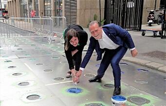 Stockholm-politikere tok turen for å lære om Oslos satsning på bilfritt sentrum