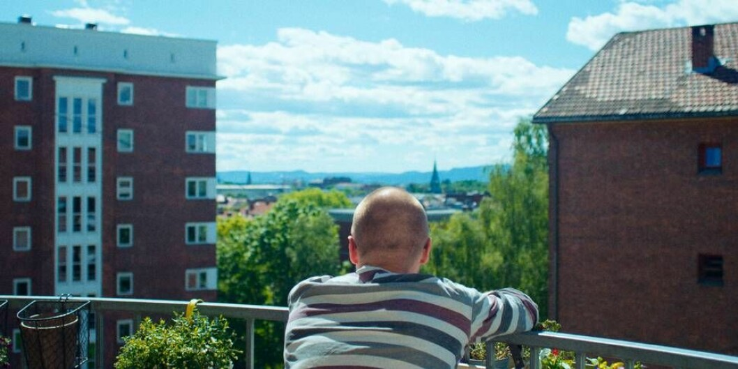 Ole Giæver i Fra balkongen. Foto: Filmweb.no