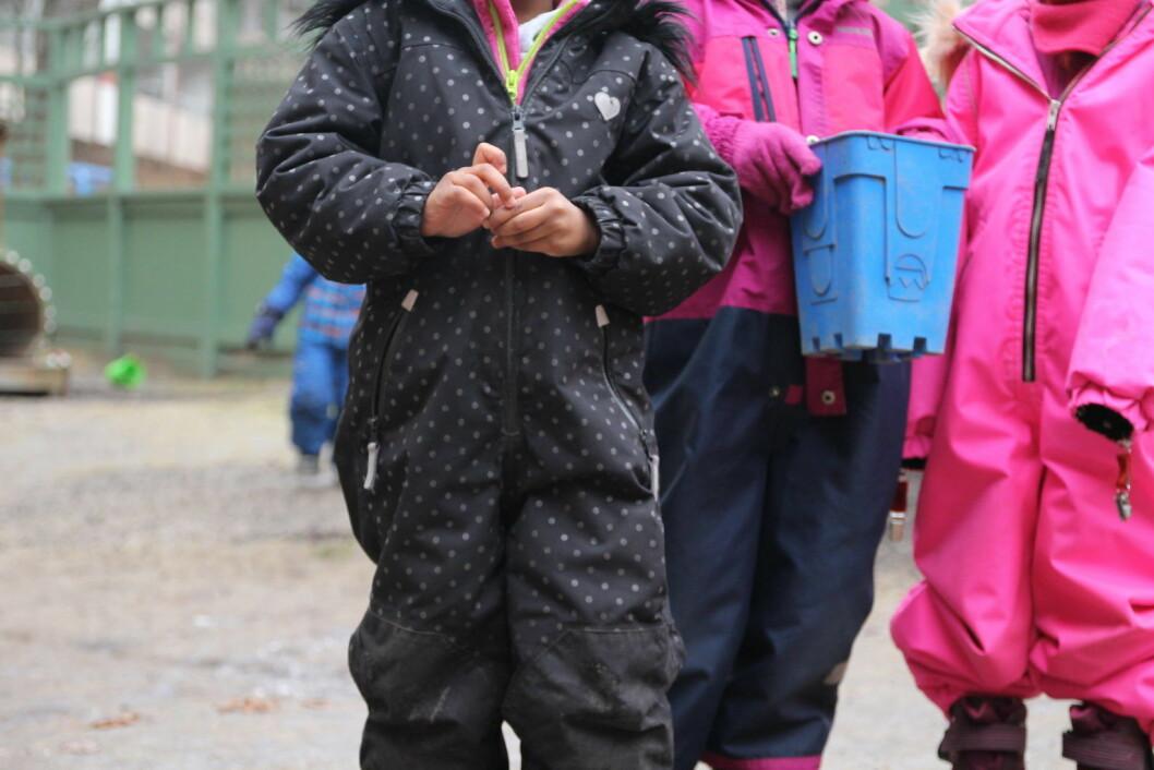 Byrådet bremser kommersialiseringen av barnehager. Foto/illustrasjon: Susanne Skaug