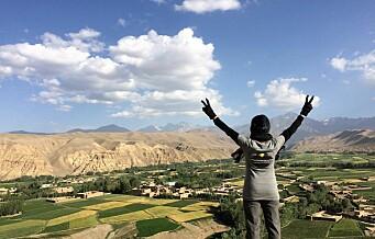 Afghanske jenter risikerer livet i fjellene med Oslo-byråkrat