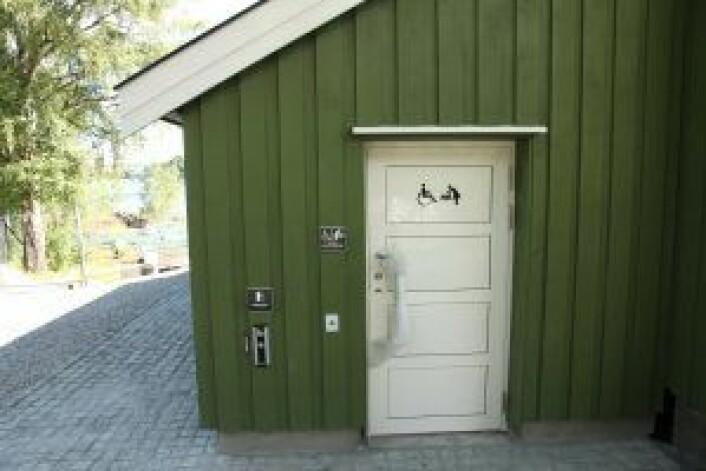 Handikaptoalettet. Foto: Hilde Gunn Øye / Eiendoms- og byfornyelsesetaten