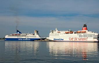 Nå går Stena Line over til landstrøm. Da synker miljøutslippene med flere hundre tonn i Oslo havn