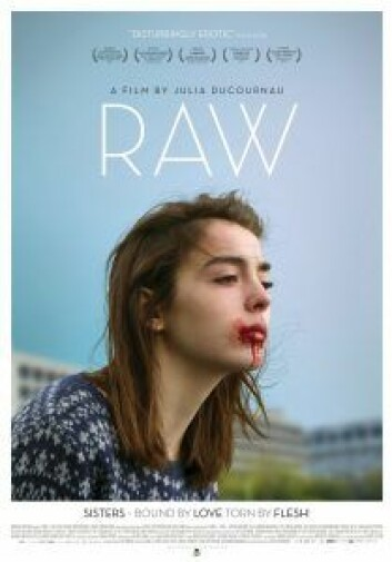 "Plakat for ""Raw"". Foto:"
