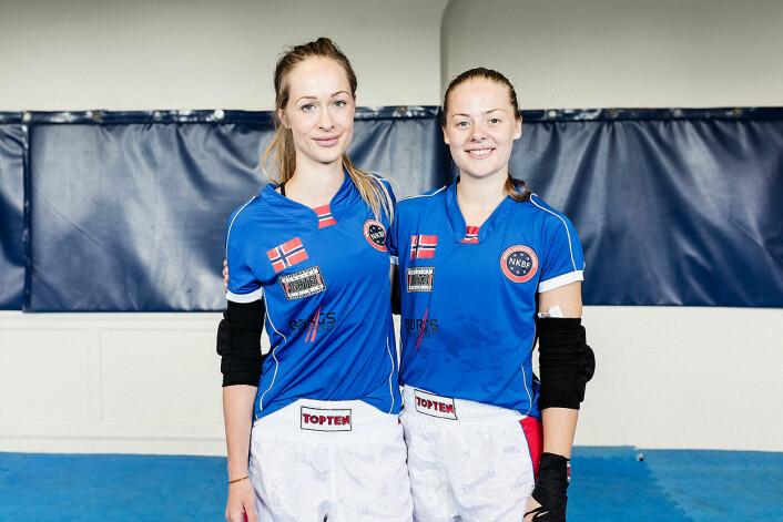 Monica Engeset og Tirill Nanett Bjørnestad Næss. Foto: Stine Raastad