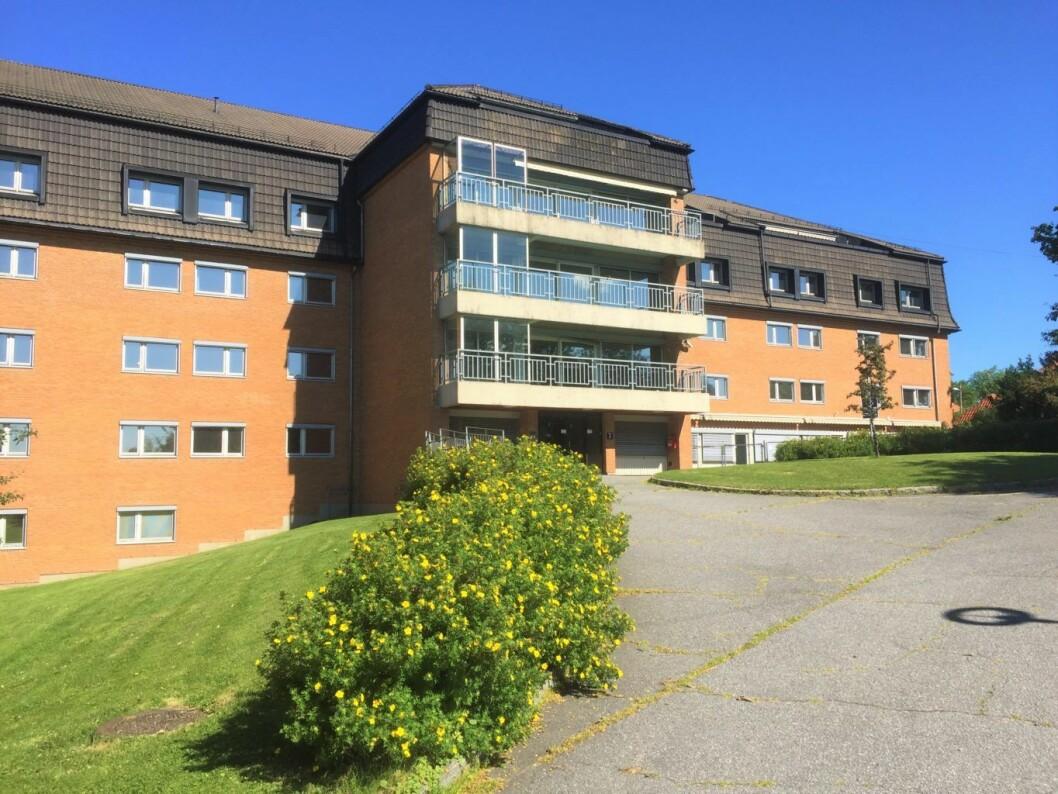 Det gamle sykehjemmet på Lille Tøyen vil bli revet for å gi plass til et helt nytt tilbud for demenspasienter. Foto: Vegard Velle