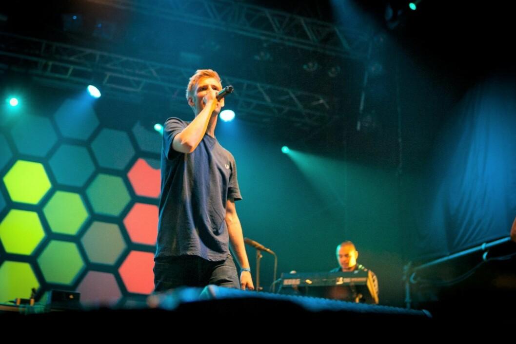Norske Lars Vaular er en av artistene som spiller på den utsolgte Øyafestivalen i Tøyenparken i begynnelsen av august. Foto: Øyafestivalen