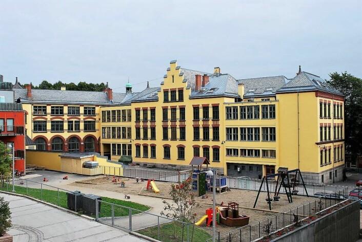 Oslo katedralskole er en av de mest populære ved årets skoleopptak.