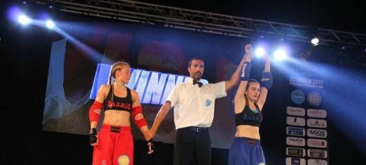 Torshov-jenta Tirill Nanett Bjørnestad Næss tapte kampen om å bli verdensmester i pointfighting