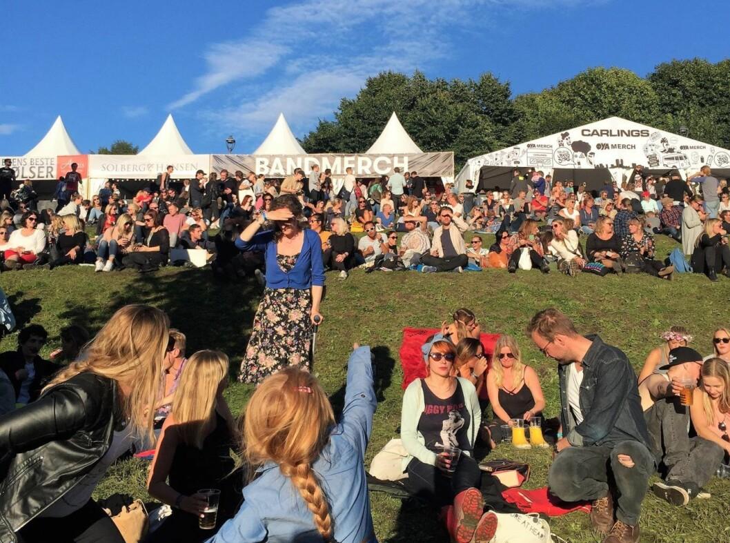 Under årets Øyafestival vil en av scenene gå på solenergi. Foto: Hjellnes Consult