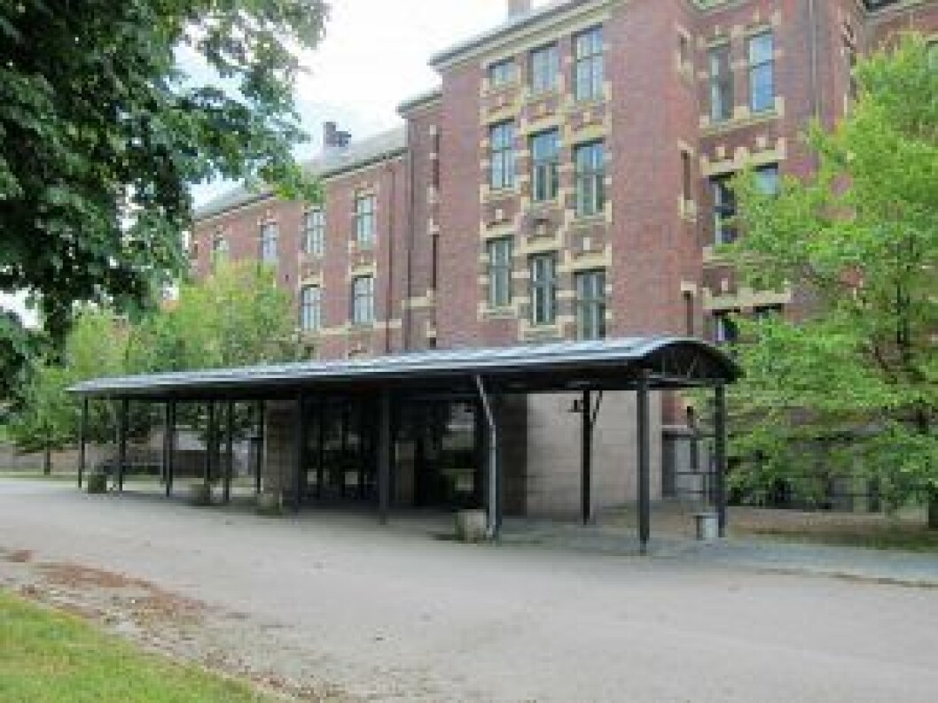 Myntgata 2-kvartalet kan bli videregående skole. Foto: Susanne Skaug