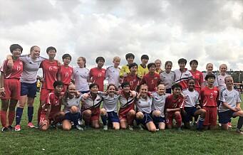 Nord Koreas jentelag vant Norway Cup. Sjekk kommentarene fra Nord-Koreas trener