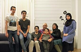 Azzam-familien flyktet fra Syria til Frogner. – Nå vil jeg bli bioingeniør
