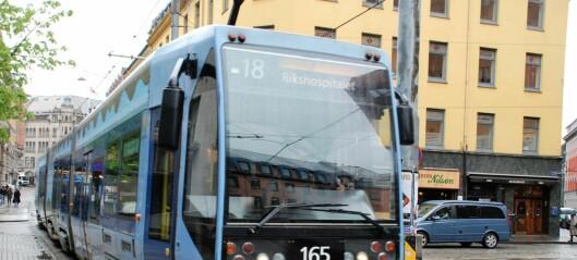 Oslo får nye trikker. Helt til neste vår må du regne med å ta buss for trikk mellom Holbergs plass og Jernbanetorget