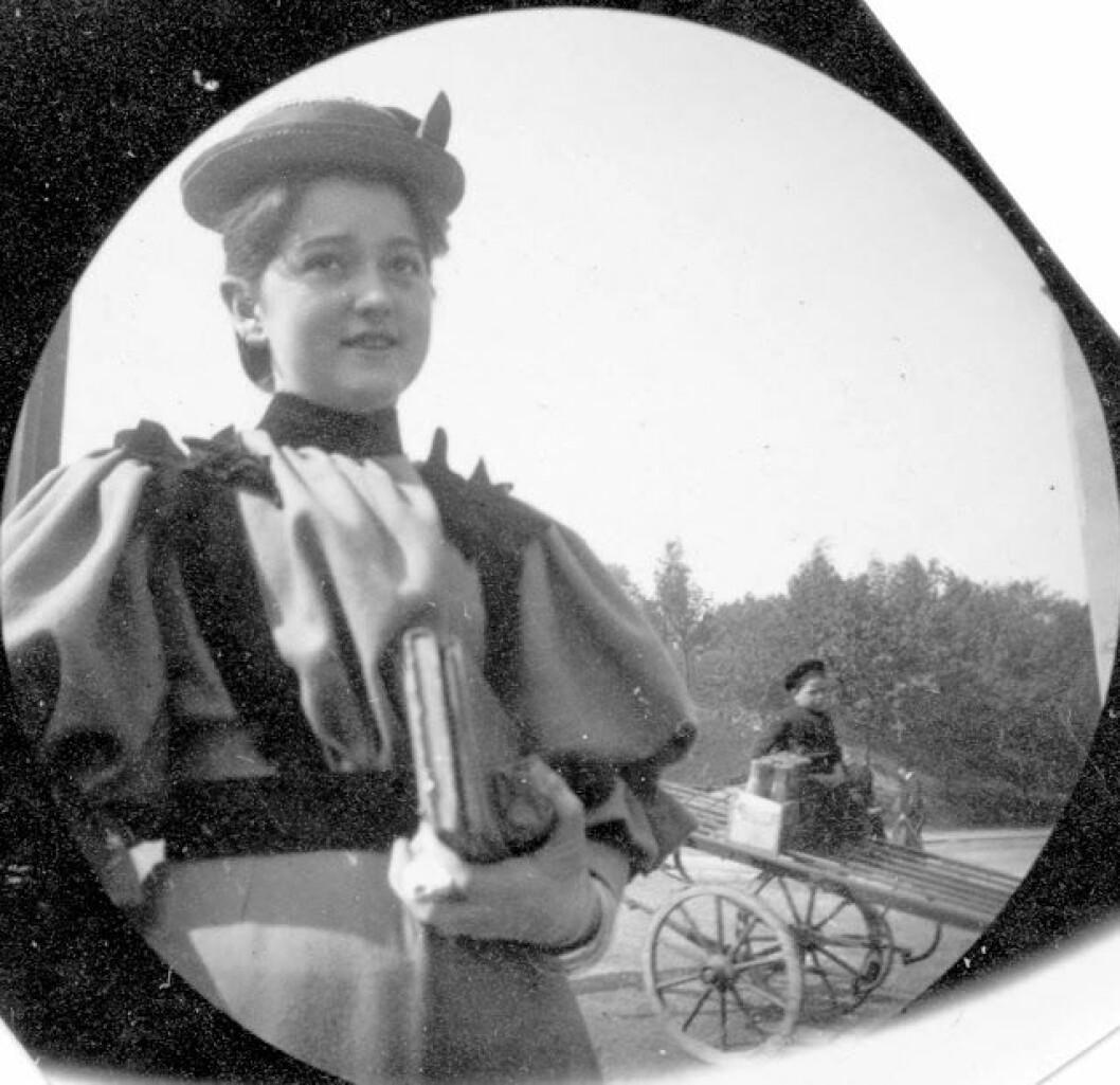 Christiania 1890-tallet. Foto: Carl Størmer / Norsk folkemuseum