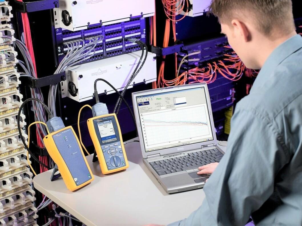 Elektronikalaboratorium. Elektrofag er ett av ni yrkesfaglige utdanningsretninger på videregående. Foto: Unknownacct01/Wikipedia