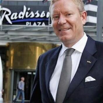 Hotellesjef ved Oslo Plaza Hotel, Tarje Hellebust, er glad for at hotellet har vært lite rammet i sommer.