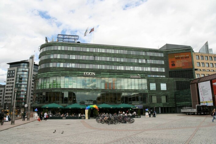 Ved hotellet Scandic Byporten opplevde de at to bagasjetyver stjal en turistveske i sommer. Foto: Wikipedia